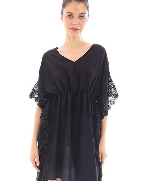 Čierne šaty DOCA