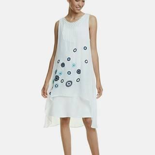 Biele šaty Desigual