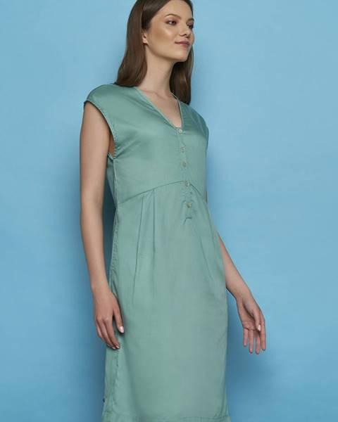 Mentolové šaty Tranquillo