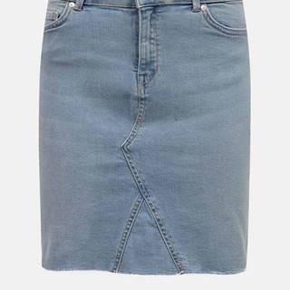 Modrá rifľová sukňa ONLY
