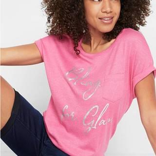 Oversize-tričko s potlačou