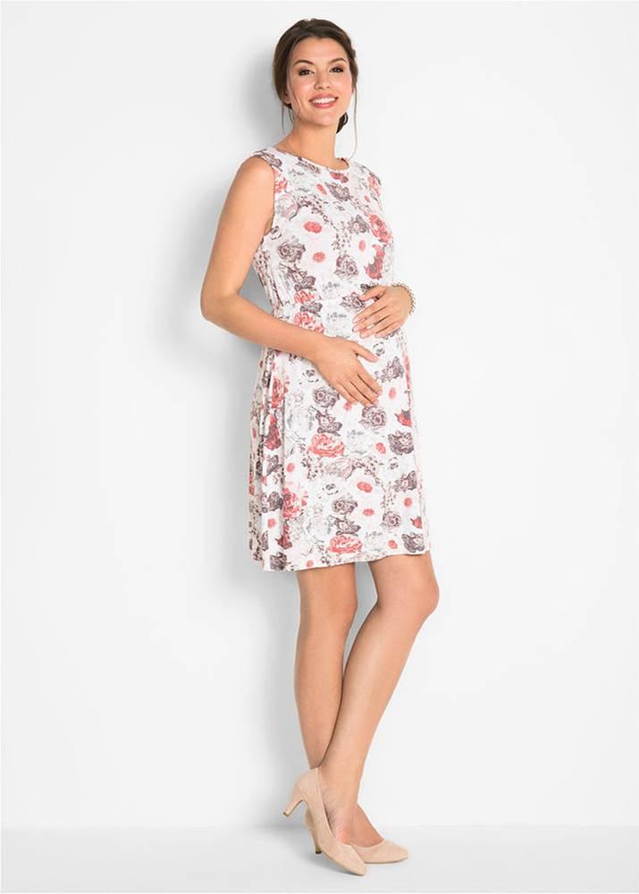 bonprix Tehotenské úpletové šaty