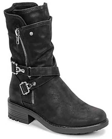 Čierne topánky Bullboxer