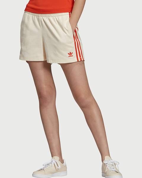 Biele kraťasy adidas Originals