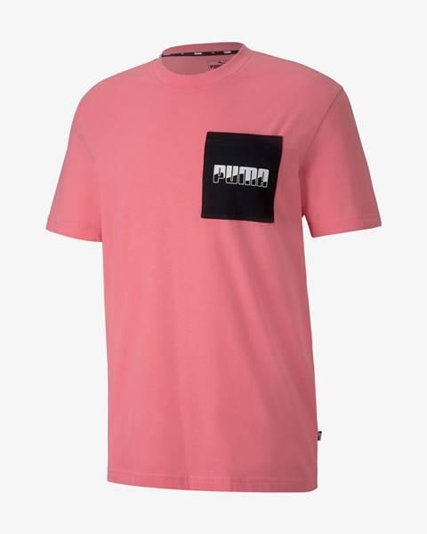 Ružové tričko Puma