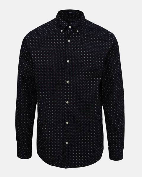 Tmavomodrá košeľa Gant