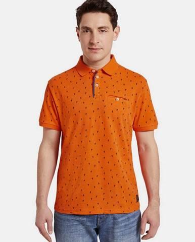 Oranžová košeľa Tom Tailor