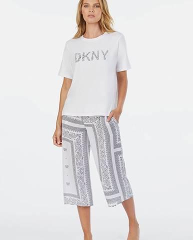 Biele pyžamo DKNY