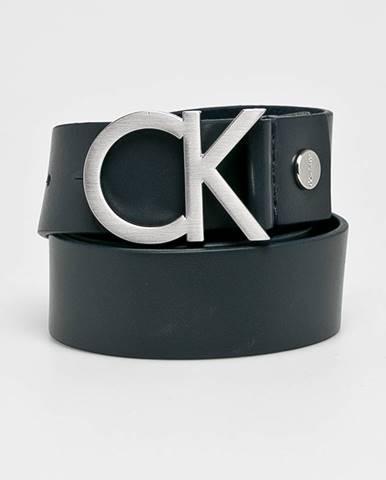 Tmavomodrý opasok Calvin Klein Jeans