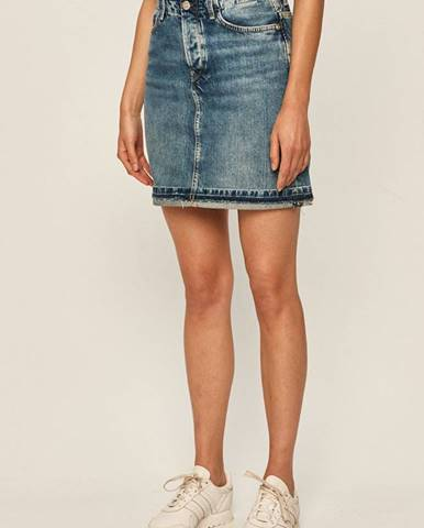 Modrá sukňa Pepe jeans