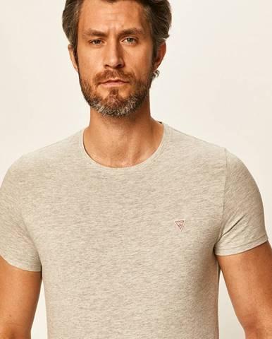 Sivé tričko Guess Jeans