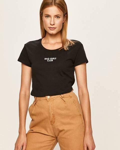 Čierne tričko Haily's