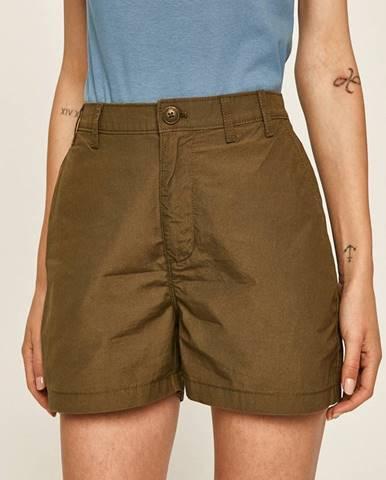 Zelené šortky Tommy Jeans