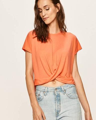 Oranžové tričko Jacqueline de Yong