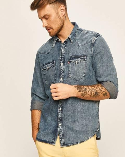 Modrá košeľa Levi's