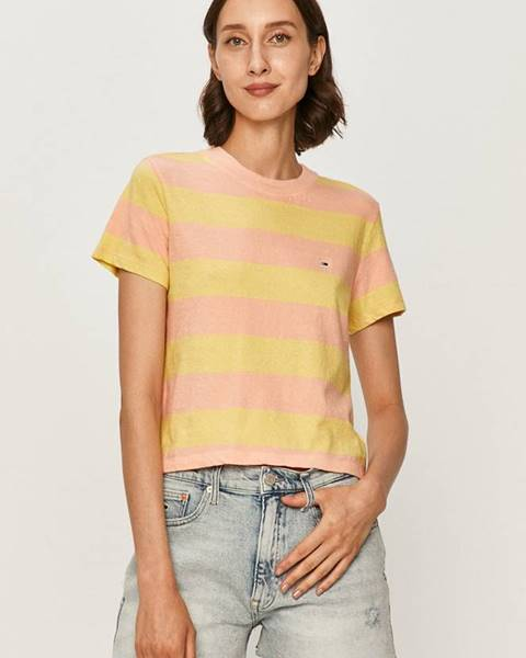 Viacfarebné tričko Tommy Jeans