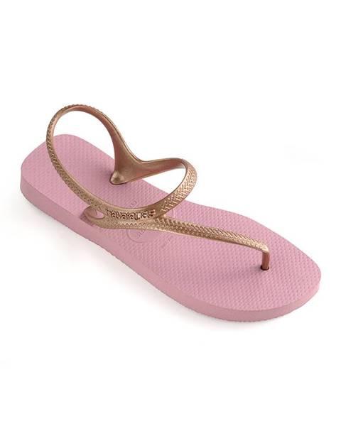 Fialové sandále Havaianas