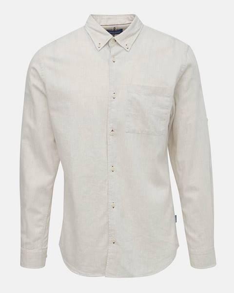 Krémová košeľa Jack & Jones