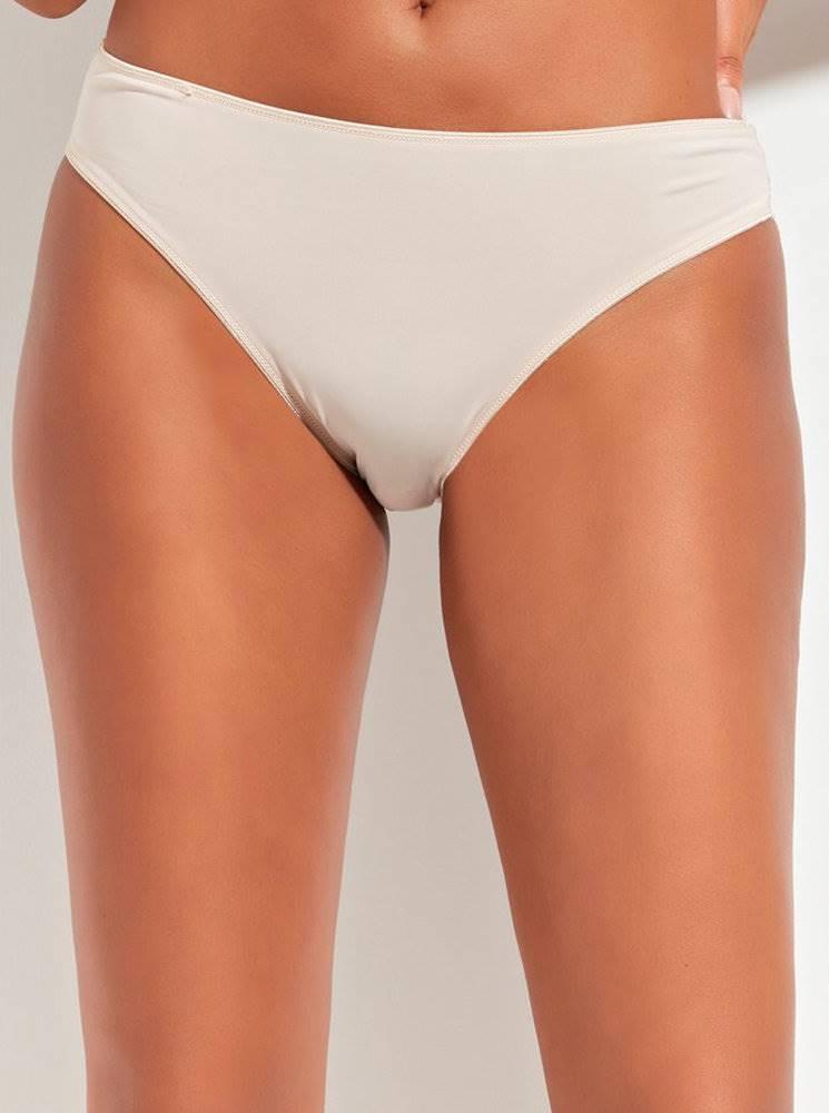 M&Co Béžové nohavičky s krajkovým lemom M&Co