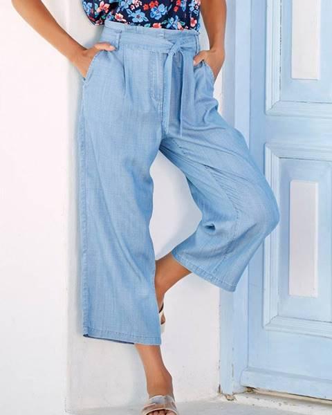 Modré nohavice M&Co