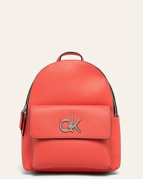 Oranžový batoh Calvin Klein