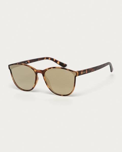 Zlaté okuliare Pepe jeans