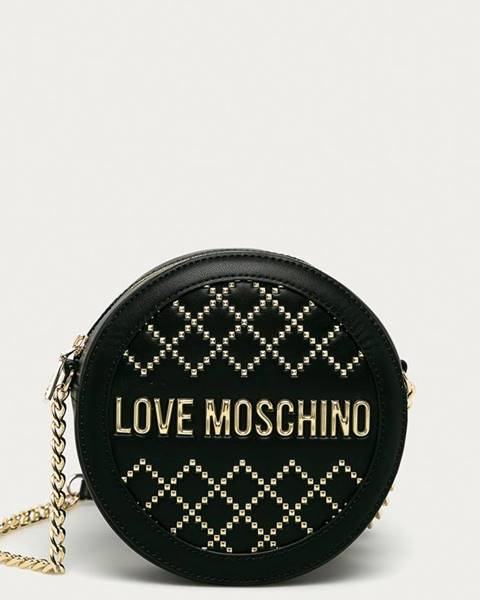 Čierna kabelka Love Moschino