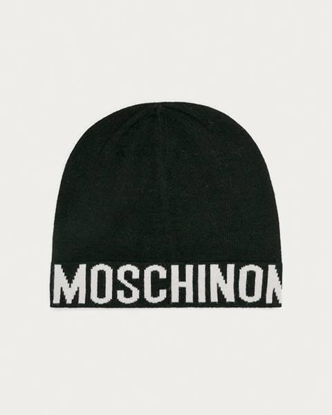 Čierna čiapka Moschino