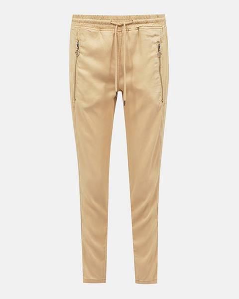 Béžové nohavice Tom Tailor