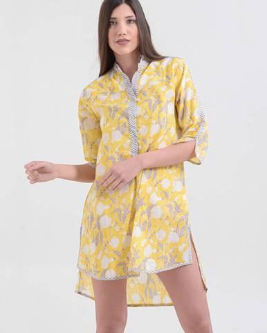 Žltá košeľa ble