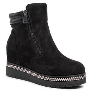 Členkové topánky Jenny Fairy WS19003-01 Materiał tekstylny,koža ekologická