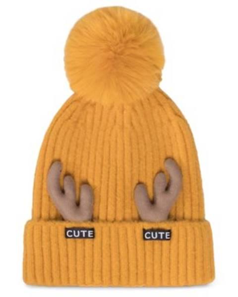 Žltý klobúk ACCCESSORIES
