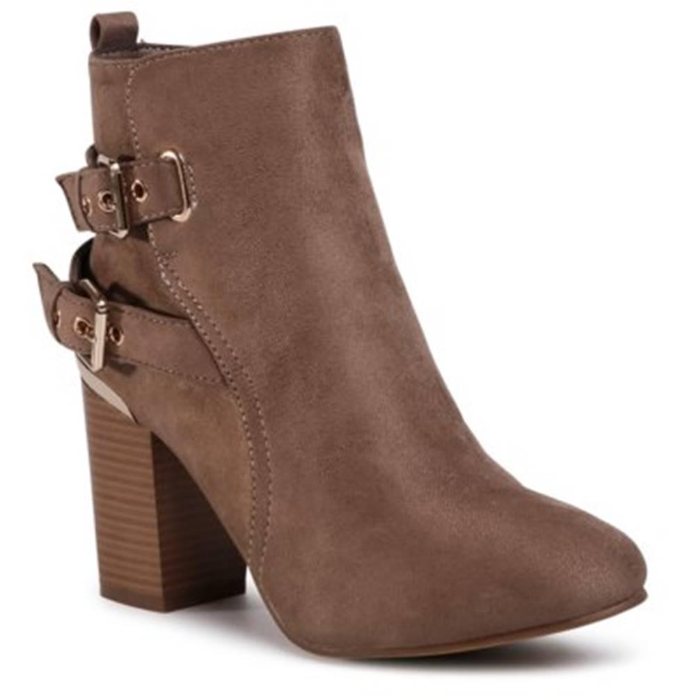 Jenny Fairy Členkové topánky Jenny Fairy WS19310-01 Materiał tekstylny