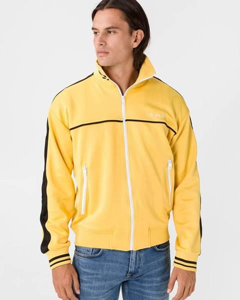 Žltá bunda bez kapucne Diesel