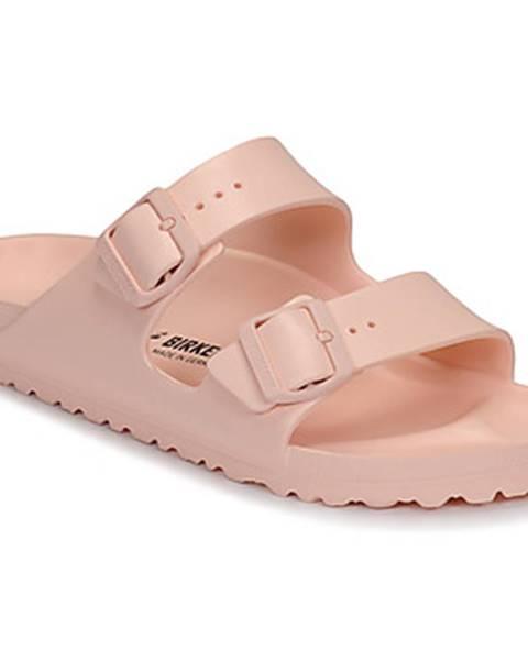 Ružové sandále Birkenstock