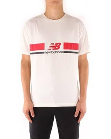 Biele tričko New Balance