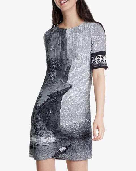 Farebné šaty Desigual