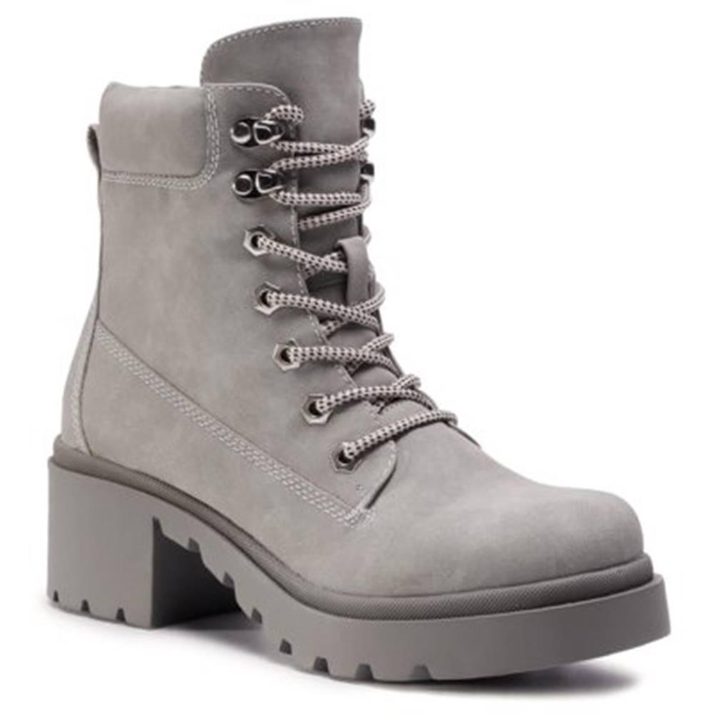 DeeZee Šnurovacia obuv DeeZee WS5189-02 koža ekologická